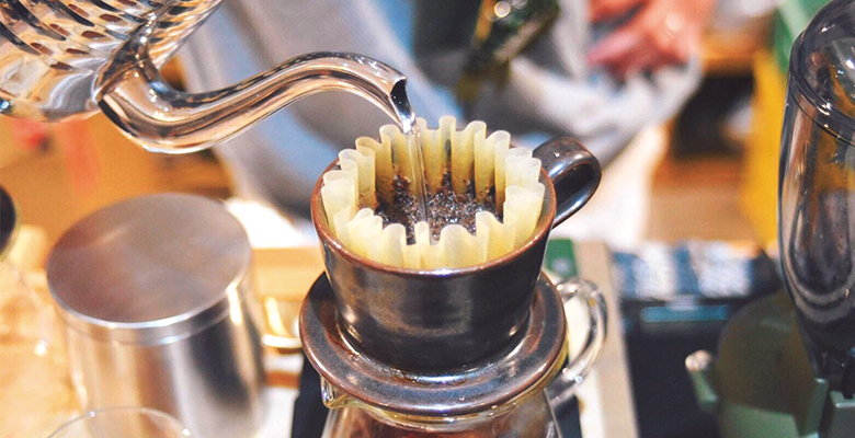 自宅で美味しく淹れるコーヒー