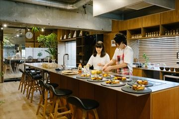 リノベGraph03|料理家夫妻とこだわりキッチン